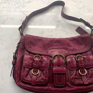 COACH Z Legacy Garcia Hobo bag  in Berry/Fuschia